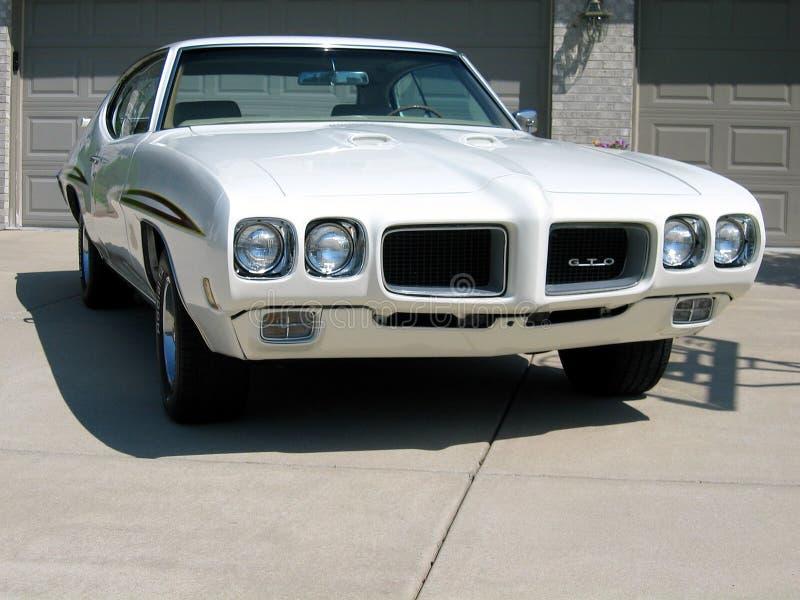1970 Pontiac GTO przedstawienie samochód fotografia stock