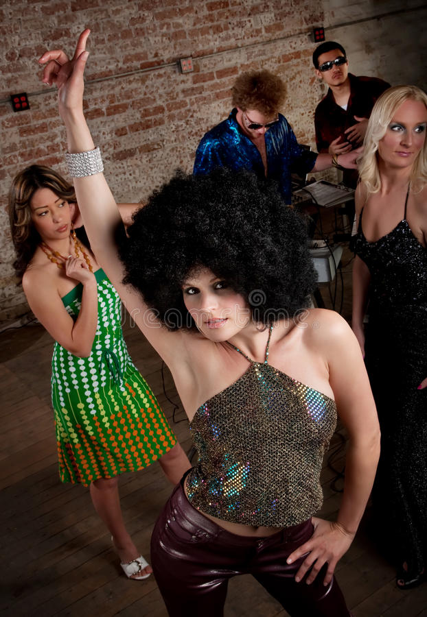 Download 1970s Disco Music Party stock image. Image of music, race - 14857589