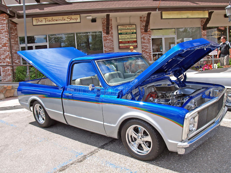 1971-72 Chevrolet c-10 Vrachtwagen royalty-vrije stock fotografie