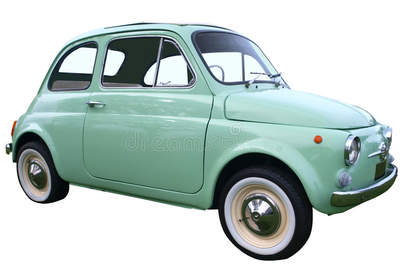 1973 Fiat 500f bambino obraz royalty free