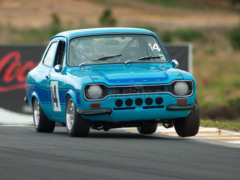 1974 motorsport rs2000 för eskortford mk1 fotografering för bildbyråer