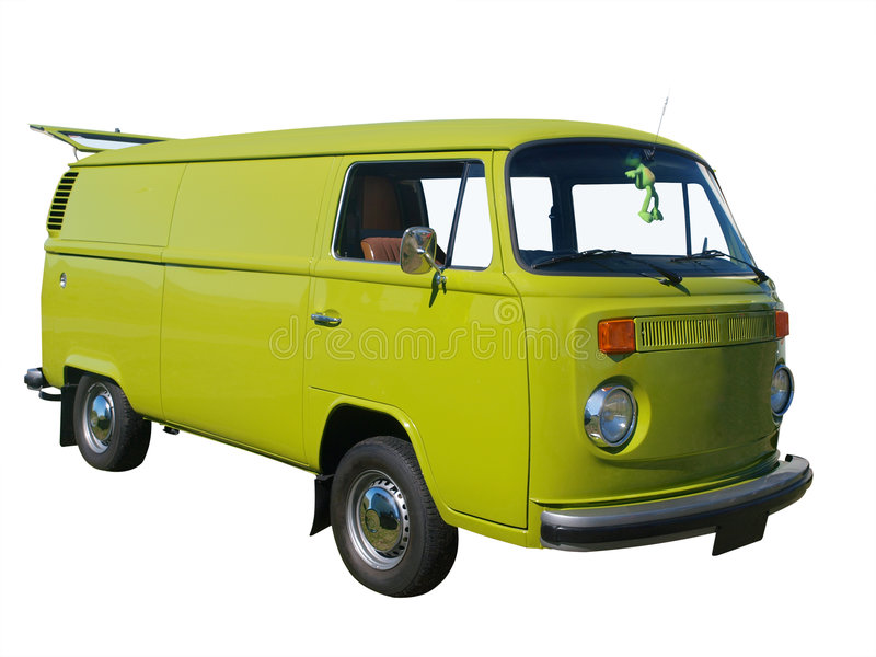 Download 1976 Volkswagen stock image. Image of green, isolated - 8975763