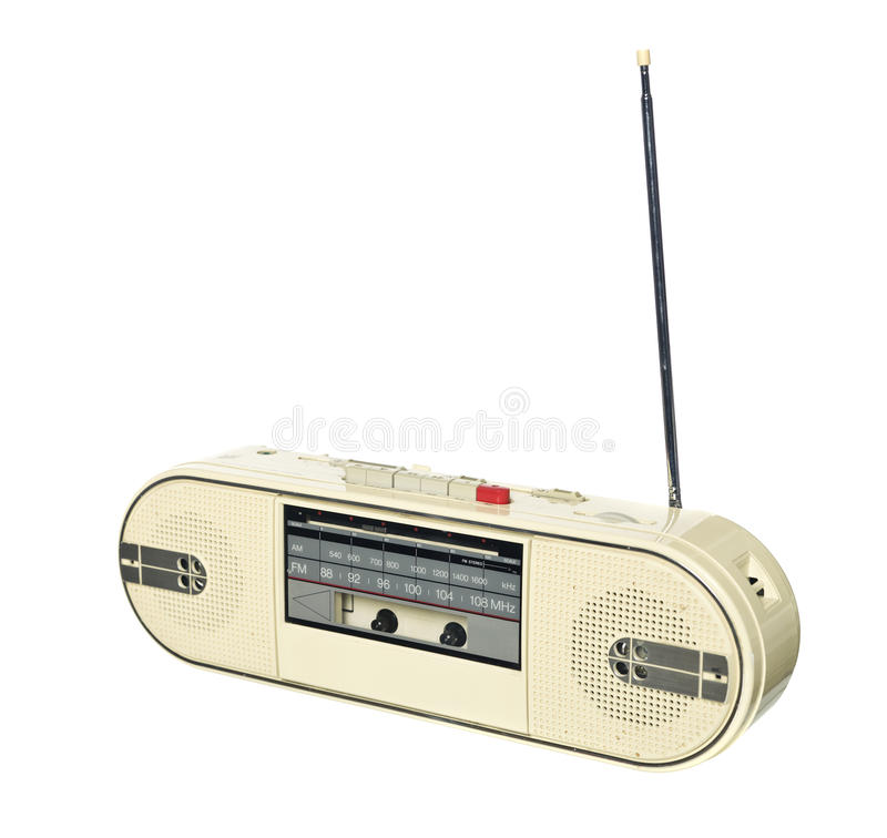 Download 1980s style radio stock image. Image of speaker, style - 13087343