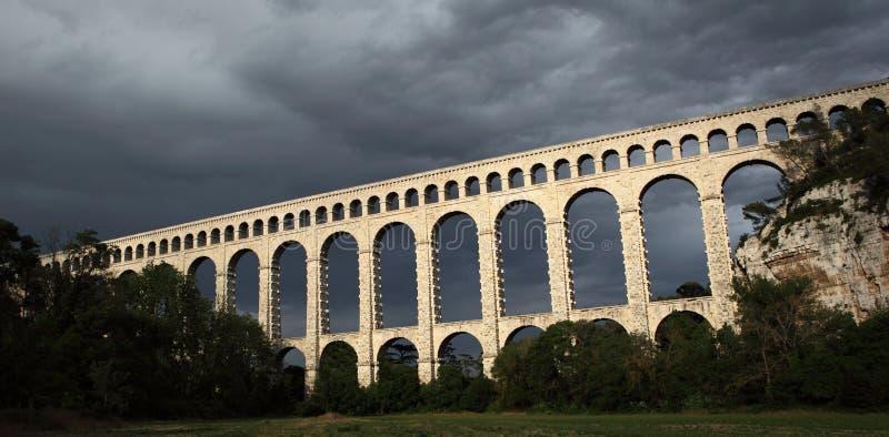19th красивейшее столетие Провансаль моста стоковое изображение