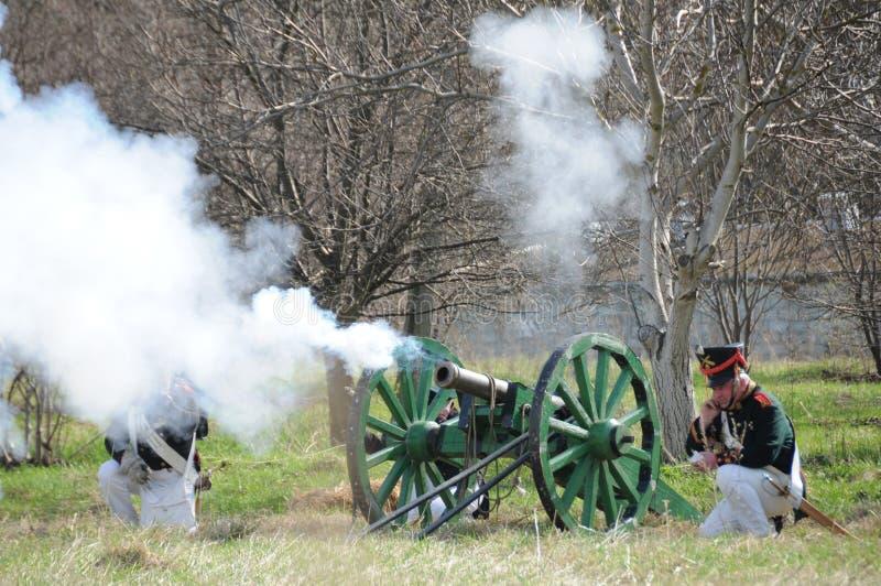 Download 19th Century Battle Reenactment Editorial Image - Image: 19187630