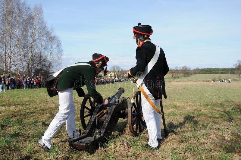 19th century battle reenactment