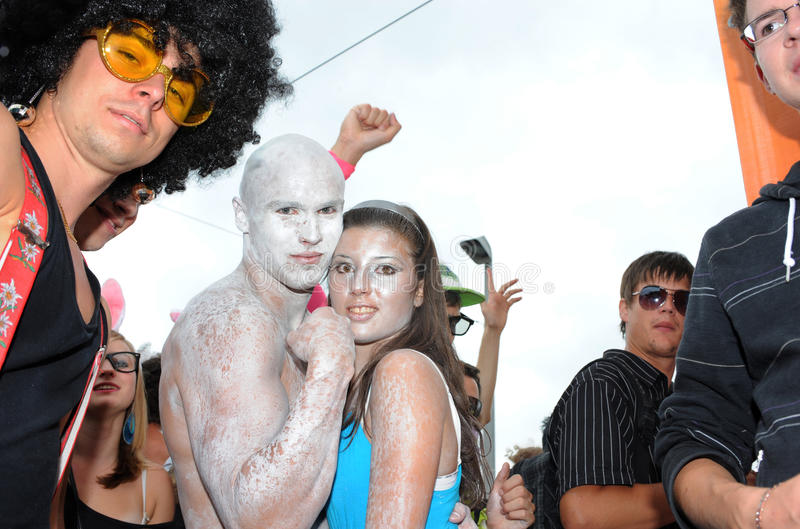 Download The 19th Street Parade In Zurich, August 14th 2010 Editorial Photography - Image: 15610702