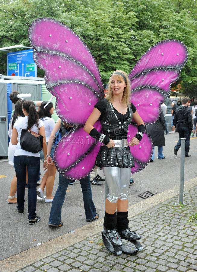 Download The 19th Street Parade In Zurich, August 14th 2010 Editorial Stock Photo - Image: 15659573