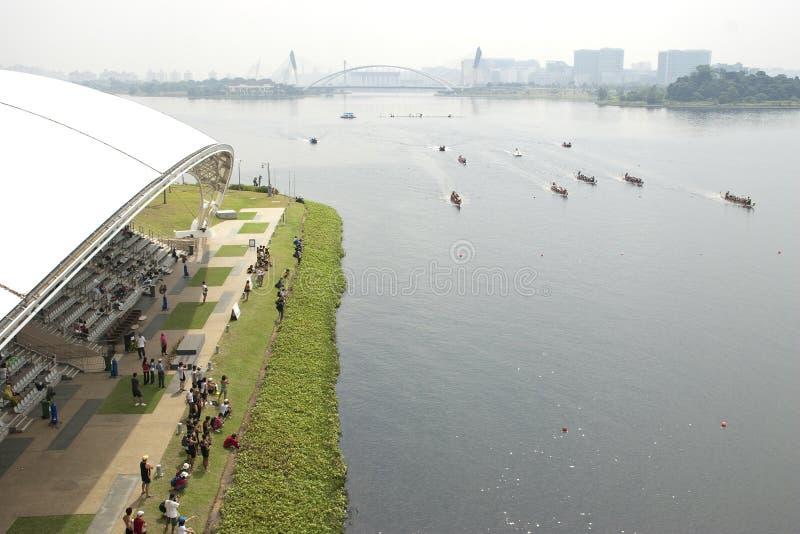 1malaysia 2010 łódkowaty smoka festiwalu zawody międzynarodowe zdjęcie royalty free