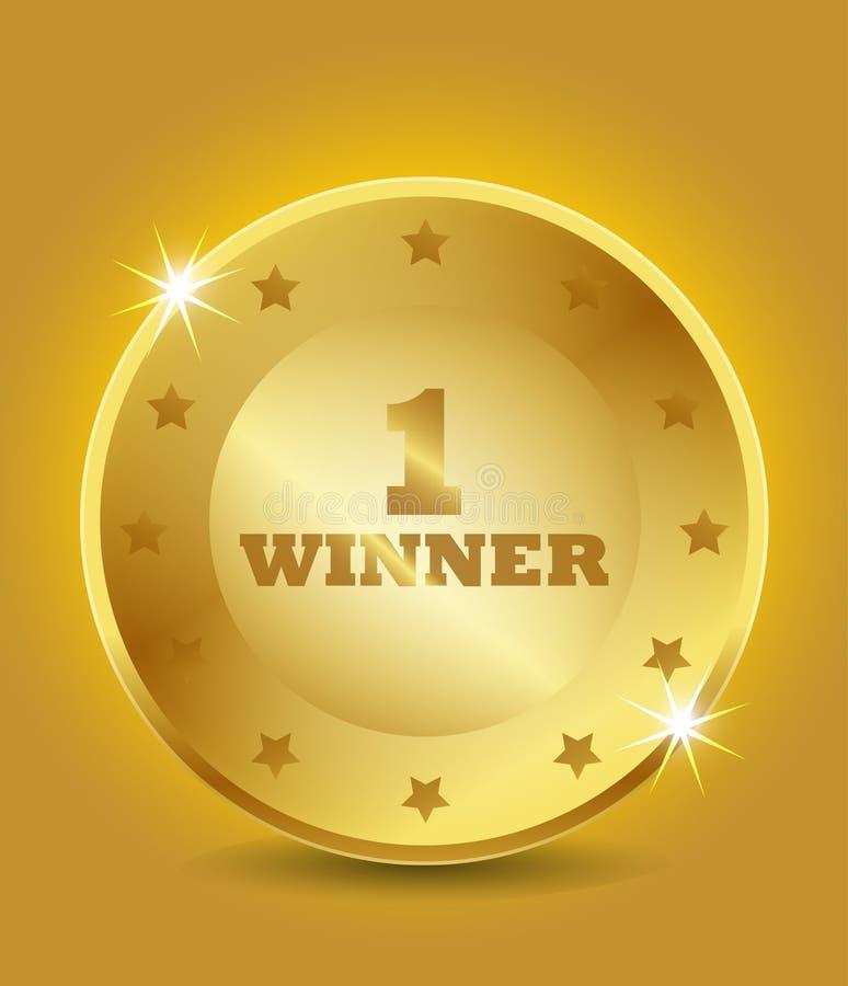 Free 1st Winner Award Royalty Free Stock Photos - 36334278