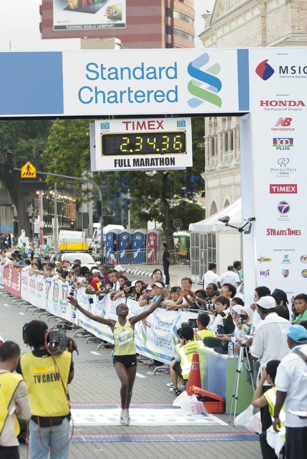 Download 1st Winner of KL Marathon editorial photography. Image of marathon - 20071897