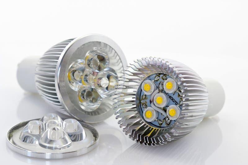 1W LEIDENE lamp met optica royalty-vrije stock afbeeldingen