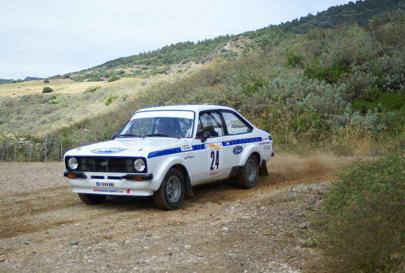 2° Rallye del Corallo - Alghero. FIA European Historic Rally Championship - Coef. 2 - 2° Rallye del Corallo - Alghero - Sardegna - Italia - 07/08 Jun 2008 stock image