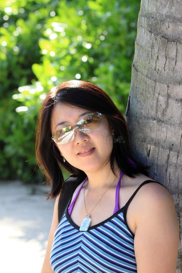 2个亚洲人妇女 免版税图库摄影