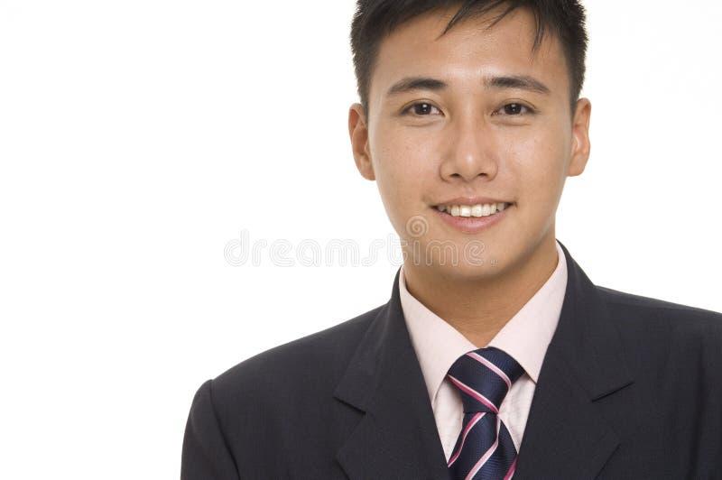 2个亚洲人生意人 免版税库存图片