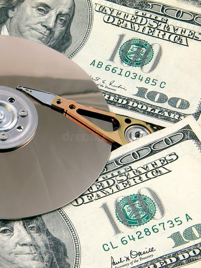 2个光盘临时 免版税图库摄影