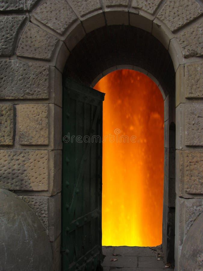 2个入口地狱 免版税库存照片