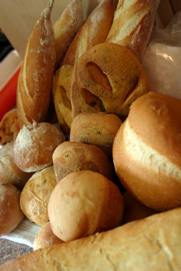 2个分类面包 库存照片