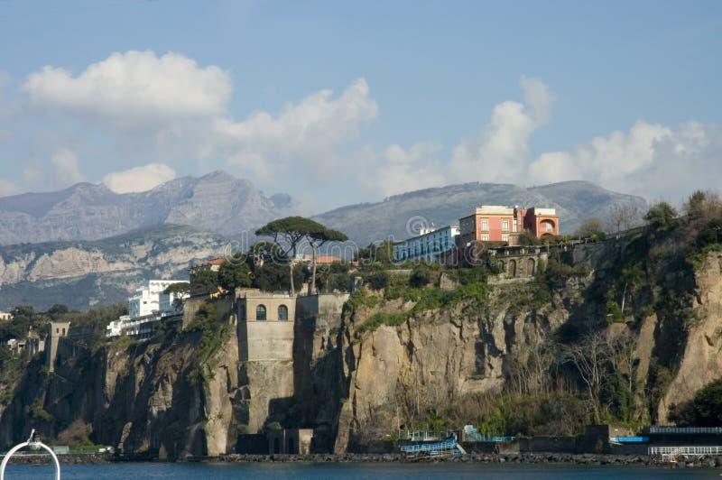 2个半岛风景索伦托视图 免版税图库摄影