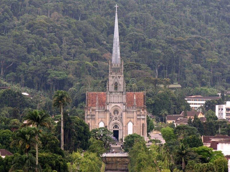 2个大教堂彼得圣徒 免版税图库摄影