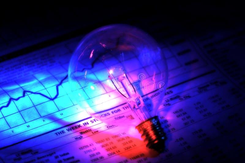 2个想法投资 免版税图库摄影