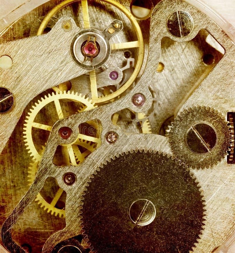 2个时钟结构 免版税图库摄影