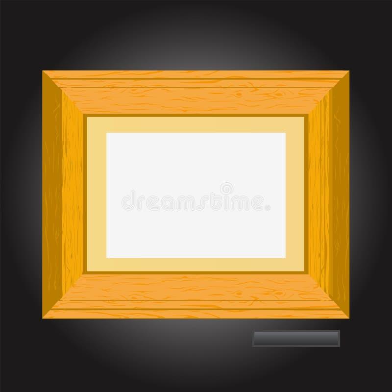 2个框架照片向量 向量例证