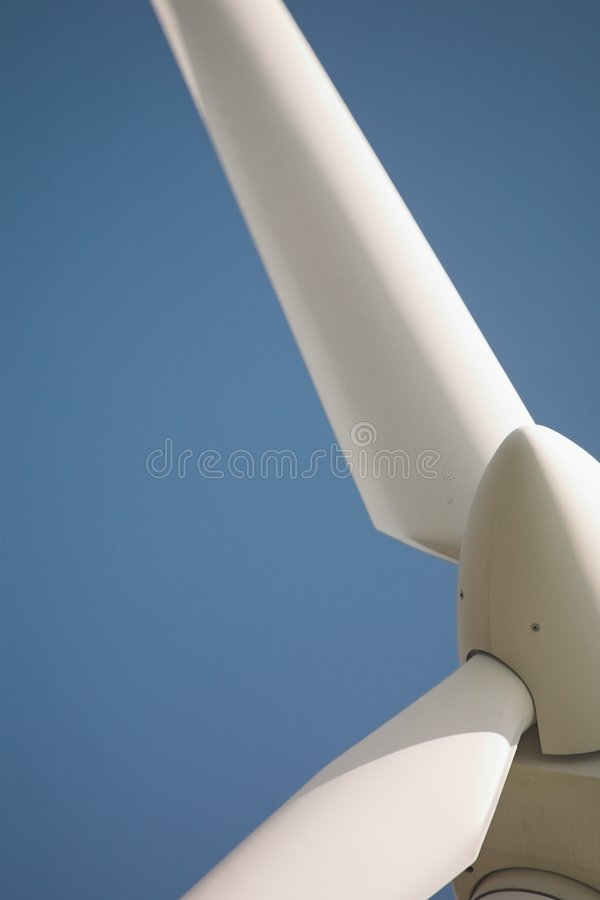 2个涡轮风 免版税库存图片