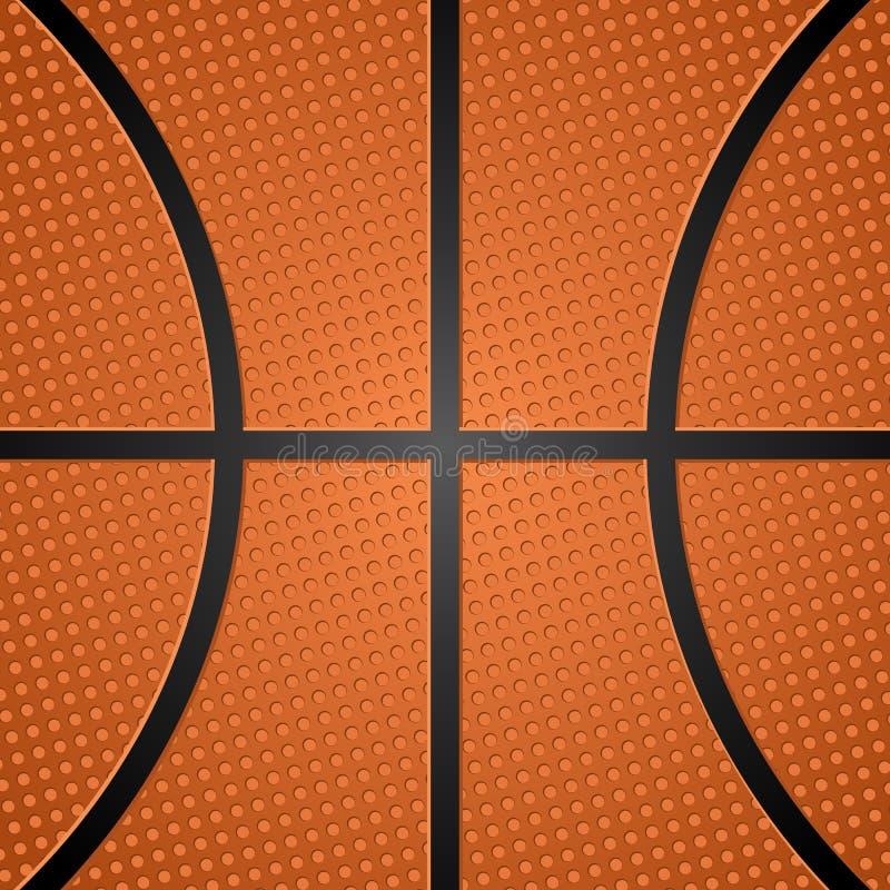 2个球篮球纹理 向量例证