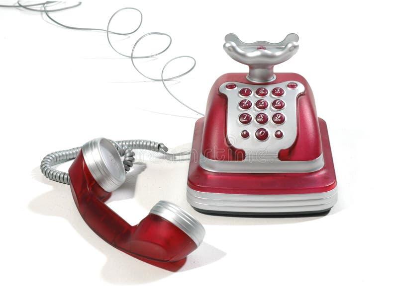 2个电话红色 免版税库存图片