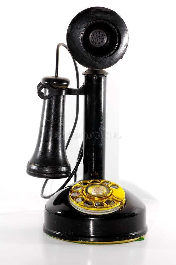 2个电话葡萄酒 库存图片