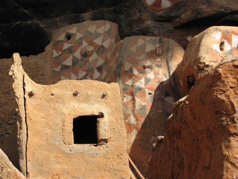 2个窑洞 免版税库存照片