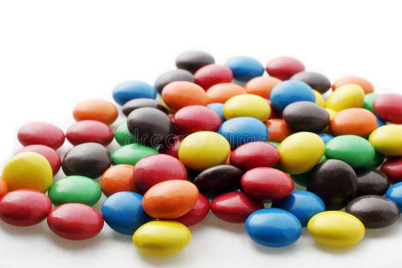 2个糖果眼睛 免版税图库摄影