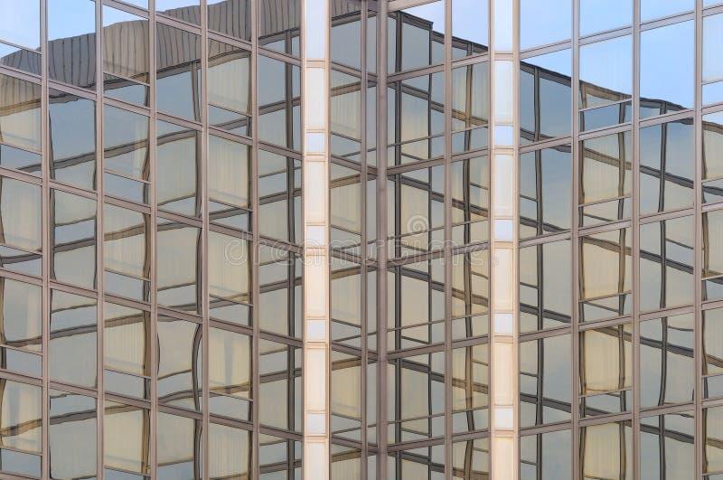 2个背景大厦商业 库存照片