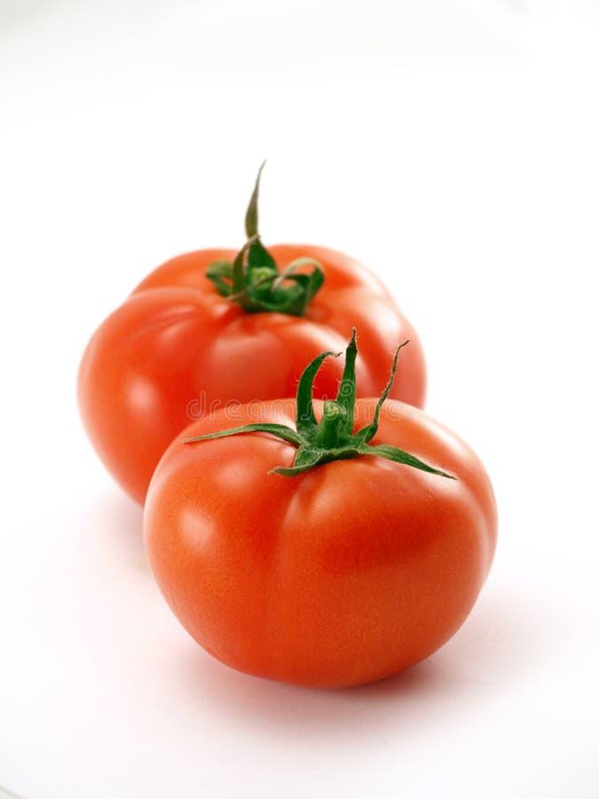 2个蕃茄 库存照片