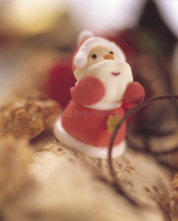 2个蛋糕圣诞节 图库摄影