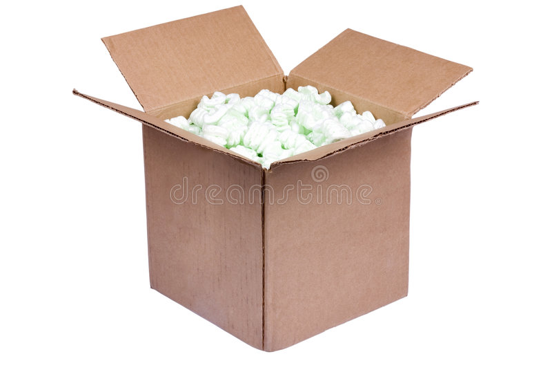 2个配件箱发运 库存照片