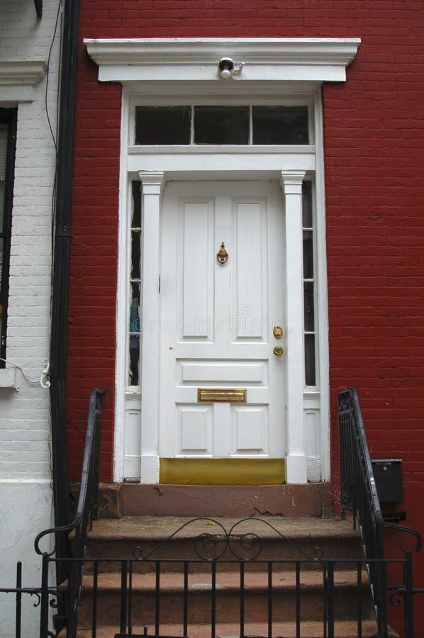 2个门入口 免版税库存照片