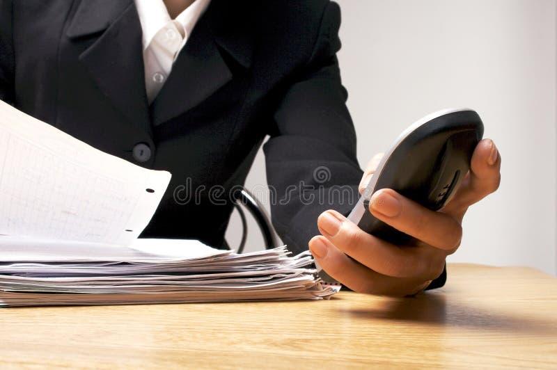 2事务 免版税图库摄影