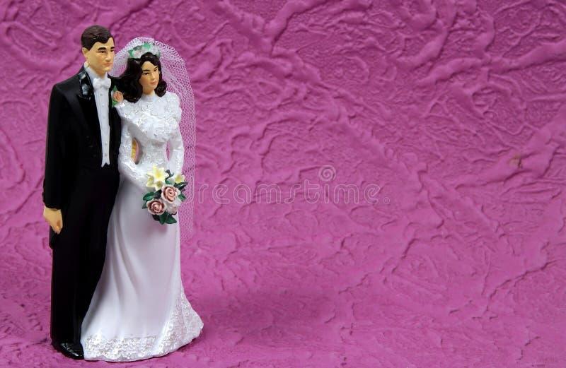 2件装饰品婚礼 库存照片