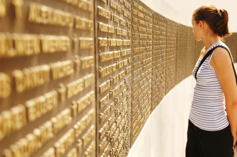 2份纪念品纪念碑 免版税库存图片