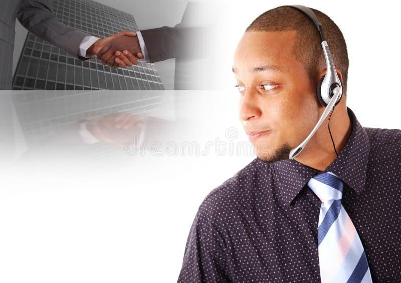 2企业电信 免版税库存照片