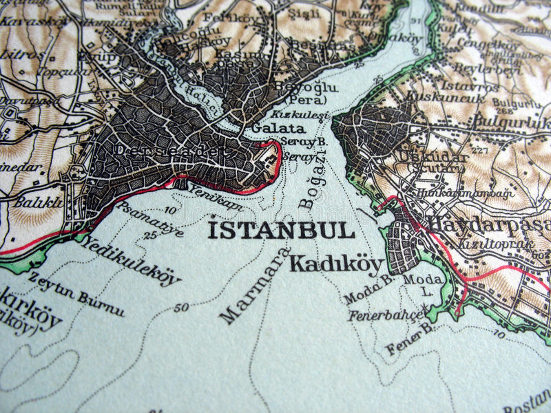 2伊斯坦布尔 免版税库存图片