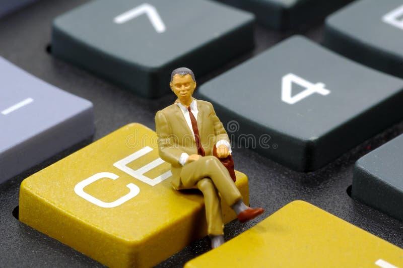 2会计师 免版税图库摄影