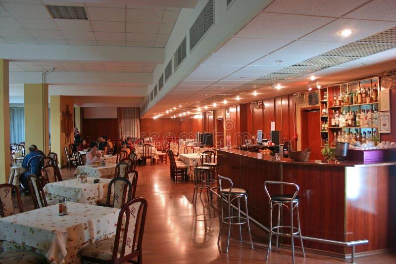 2内部餐馆 免版税库存图片