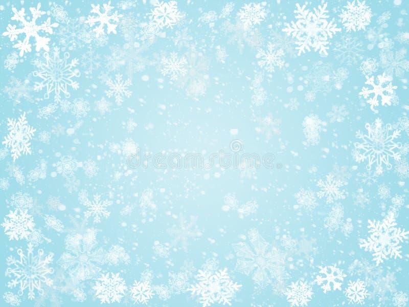 2冬天 向量例证