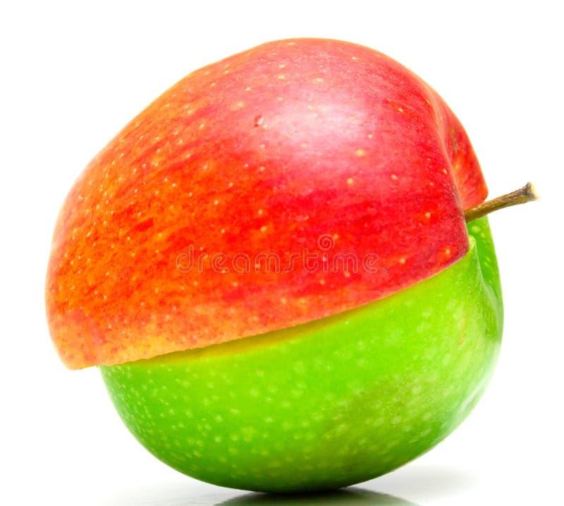 2创造性的苹果 库存照片