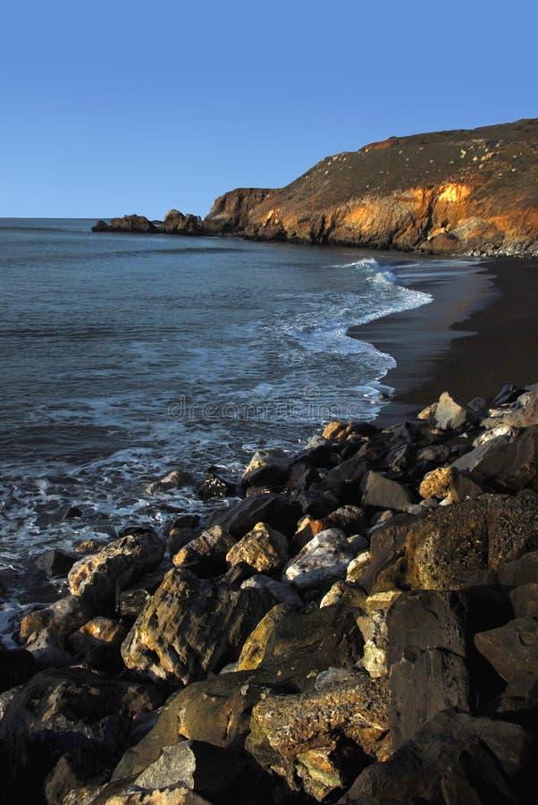 2加利福尼亚海岸线pacifica 免版税库存图片