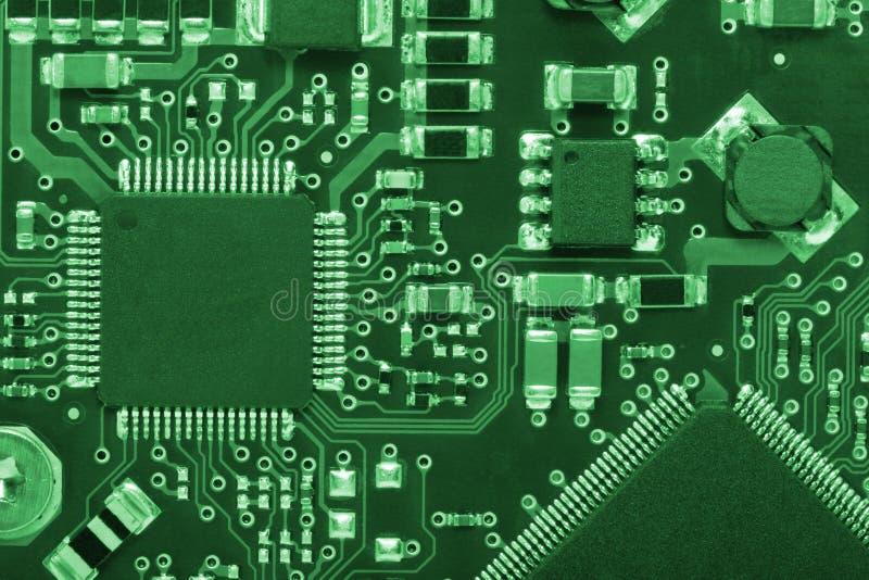 2单板计算机绿色样式 免版税库存图片