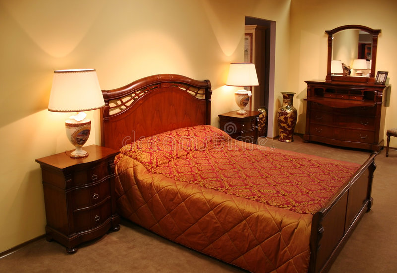2卧室 免版税库存照片